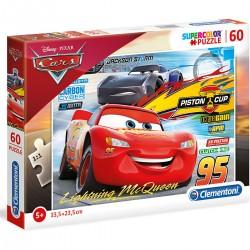 269730 CLEMENTONI PUZZLE 60 EL CARS