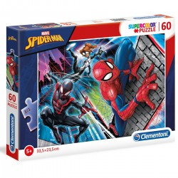 260485 CLEMENTONI PUZZLE 60 EL SPIDER-MAN