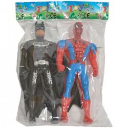 0158918 FIGURKI SUPERBOHATER 2 SZTUK