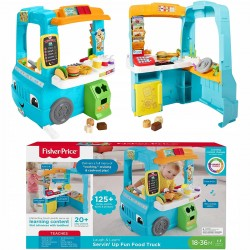 793901 FISHER PRICE FOOD TRUCK INTERAKTYWNY SKLEPIK