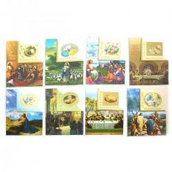B6W KARTKA WIELKANOCNA WYCINANA + KOPERTA