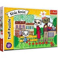 14316 TREFL PUZZLE 24 EL MAXI KICIA KOCIA