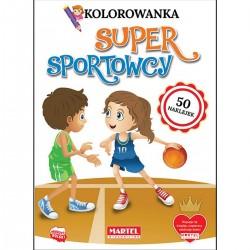 330948 MARTEL KOLOROWANKA SUPER SPORTOWCY
