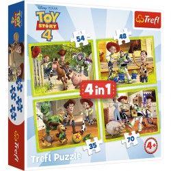 34312 TREFL PUZZLE 4W1 TOY STORY 4