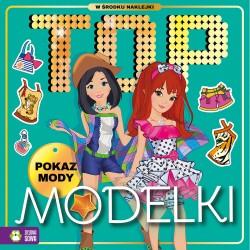 549233 KOLOROWANKA TOP MODELKI POKAZ MODY