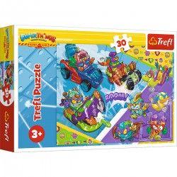 18273 TREFL PUZZLE 30 EL. SUPER THINGS