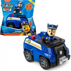 056845 PSI PATROL TRANSFORMUJĄCY SIE WÓZ POLICYJNY + FIGURKA CHASE