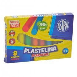 030514 ASTRA PLASTELINA 8 KOLORÓW