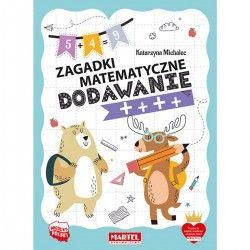 753358 MARTEL ZAGADKI MATEMATYCZNE DODAWANIE